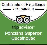 Tripadvisor Award of Excellence 2015