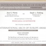International-Arch of Europe Award 2012