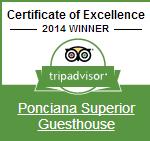 Tripadvisor Award of Excellence 2014